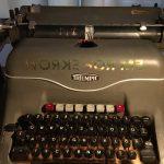 Triumph Schreibmaschine #worksforme