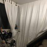 Schalldämmungs-Hack mit IKEA Tagesdecke