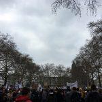 Anti-Artikel13-Demo in Köln - Menschenmenge