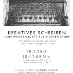 Flyer für den Workshop