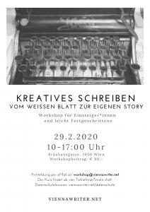 Flyer für den Workshop