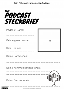 Dein Podcast Steckbrief